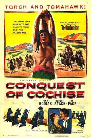 Conquest of Cochise - Movie Poster (thumbnail)