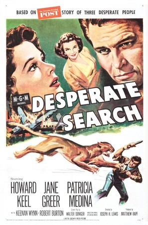 Desperate Search - Movie Poster (thumbnail)