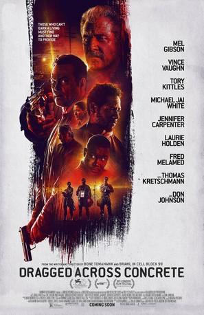 Dragged Across Concrete - Movie Poster (thumbnail)