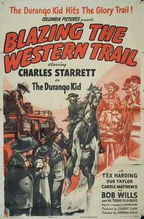 Blazing the Western Trail - Movie Poster (thumbnail)