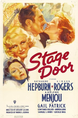 Stage Door - Movie Poster (thumbnail)