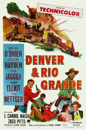Denver and Rio Grande - Movie Poster (thumbnail)