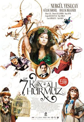 Yedi kocali Hürmüz - Turkish Movie Poster (thumbnail)