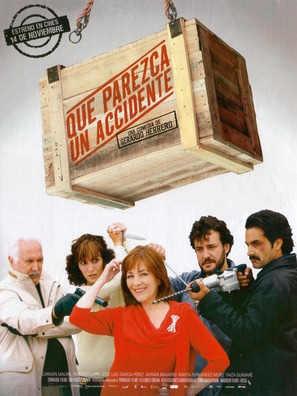 Que parezca un accidente - Spanish Movie Poster (thumbnail)