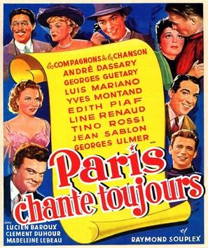 Paris chante toujours! - French Movie Poster (thumbnail)