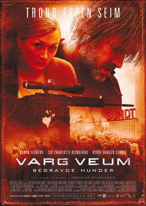 Varg Veum - Begravde hunder - Norwegian Movie Poster (thumbnail)