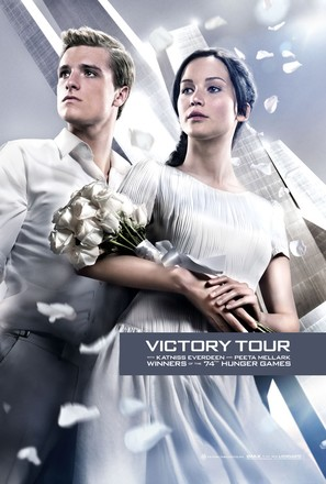 The Hunger Games: Catching Fire - Teaser movie poster (thumbnail)