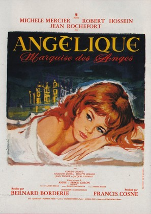 Angélique, marquise des anges - French Movie Poster (thumbnail)