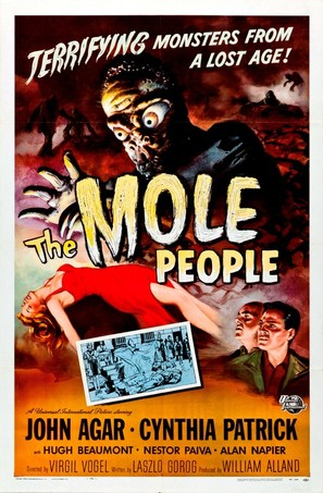The Mole People - Theatrical poster (thumbnail)