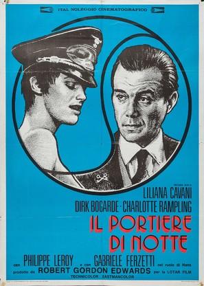 Il portiere di notte - Italian Movie Poster (thumbnail)