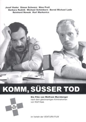 Komm, süßer Tod - German Movie Poster (thumbnail)