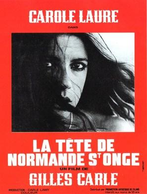 La tête de Normande St-Onge