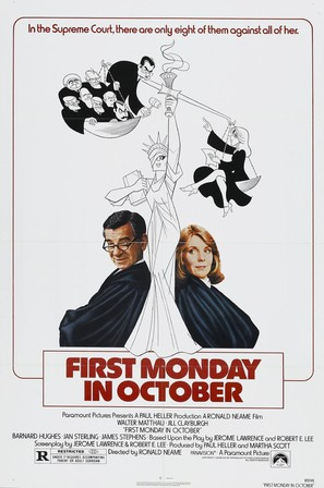 First Monday in October - Movie Poster (thumbnail)