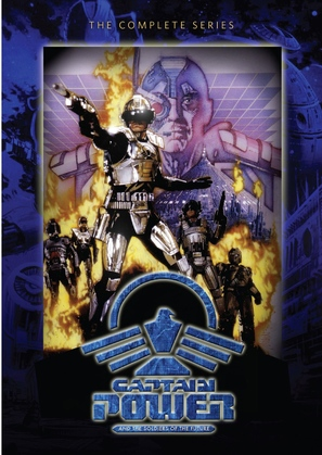 """Captain Power and the Soldiers of the Future"" - DVD cover (thumbnail)"