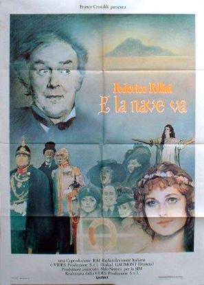 E la nave va - Italian Theatrical poster (thumbnail)