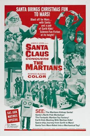Santa Claus Conquers the Martians - Movie Poster (thumbnail)