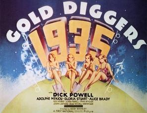 Gold Diggers of 1935 - British Movie Poster (thumbnail)