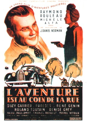 L'aventure est au coin de la rue - French Movie Poster (thumbnail)