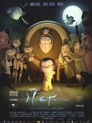 Nocturna - Spanish Movie Poster (thumbnail)