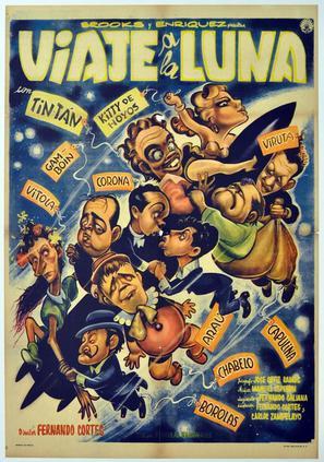 Viaje a la luna - Mexican Movie Poster (thumbnail)