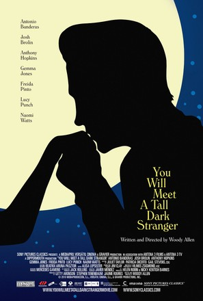 You Will Meet a Tall Dark Stranger - Canadian Movie Poster (thumbnail)