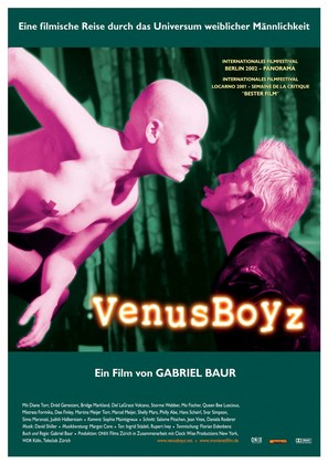 Venus Boyz - German Movie Poster (thumbnail)
