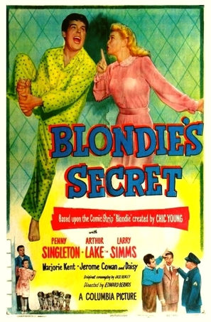 Blondie's Secret - Movie Poster (thumbnail)