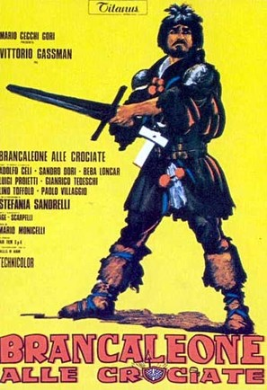 Brancaleone alle crociate - Italian Movie Poster (thumbnail)