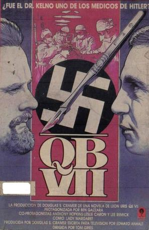 """QB VII"" - Spanish VHS movie cover (thumbnail)"