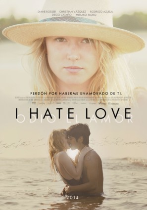 I Hate Love - Mexican Movie Poster (thumbnail)