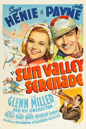Sun Valley Serenade - Movie Poster (thumbnail)
