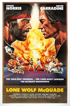 Lone Wolf McQuade - Movie Poster (thumbnail)