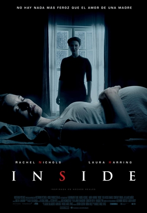 Inside - Spanish Movie Poster (thumbnail)