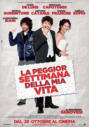 La peggior settimana della mia vita - Italian Movie Poster (thumbnail)