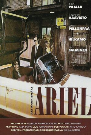 Ariel - Swedish Movie Poster (thumbnail)