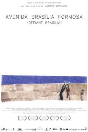 Avenida Brasília Formosa - Brazilian Movie Poster (thumbnail)