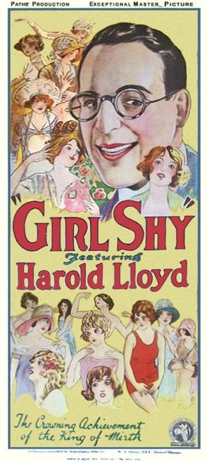 Girl Shy - Movie Poster (thumbnail)