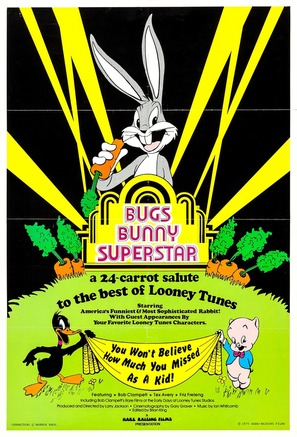 Bugs Bunny Superstar - Movie Poster (thumbnail)