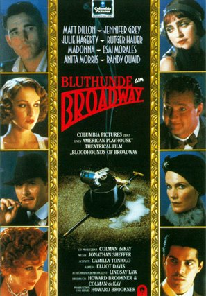 Bloodhounds of Broadway - German poster (thumbnail)