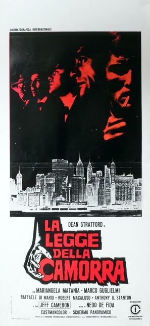 La legge della Camorra - Italian Movie Poster (thumbnail)