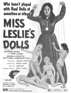 Miss Leslie's Dolls - Theatrical poster (thumbnail)