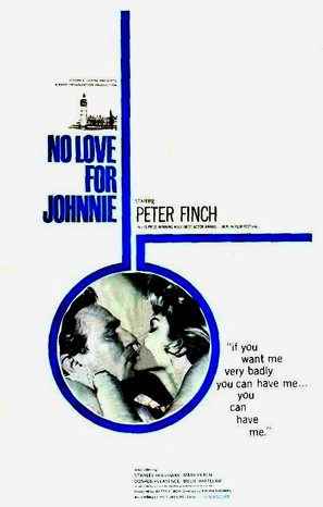 No Love for Johnnie - British Movie Poster (thumbnail)