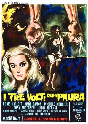 I tre volti della paura - Italian Movie Poster (thumbnail)