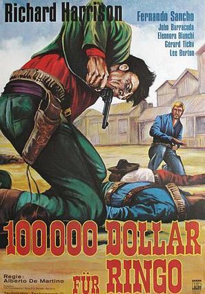 Centomila dollari per Ringo - German Movie Poster (thumbnail)