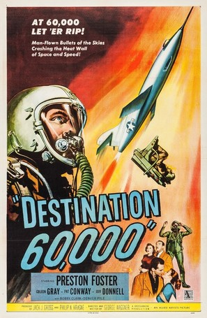 Destination 60,000 - Movie Poster (thumbnail)