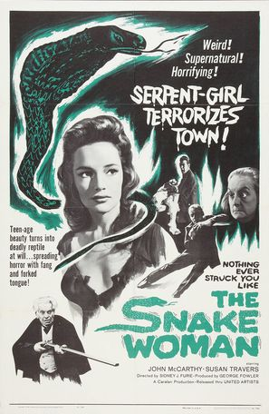 The Snake Woman - Movie Poster (thumbnail)