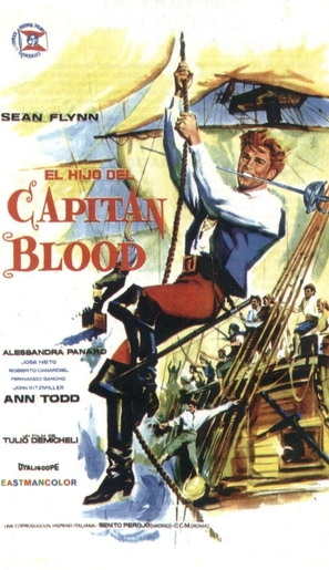 El hijo del capitán Blood - Spanish Movie Poster (thumbnail)
