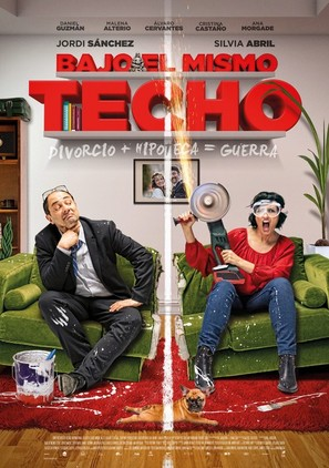 Bajo el mismo techo - Spanish Movie Poster (thumbnail)