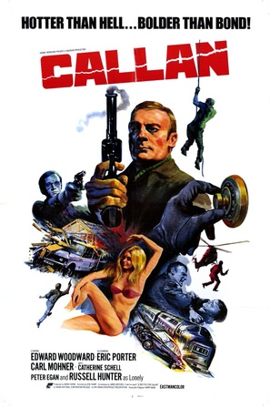 Callan - British Movie Poster (thumbnail)