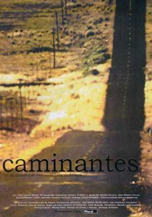 Caminantes - Spanish Movie Poster (thumbnail)